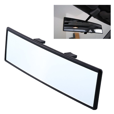 240mm Car Care Truck Interior Rearview Convex Face Wide Rear View Mirror Clip On