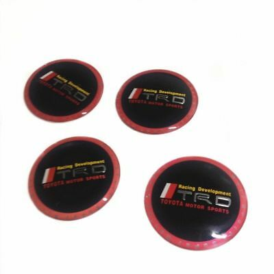 4Pcs Car Vehicle Wheel Center Cover Emblem Badge Decal Sticker Cap for Toyota