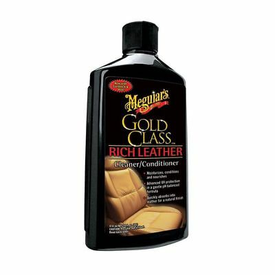 Meguiars Gold Class Leather Cleaner/Conditioner 14 oz/414 ml G7214 Free Shipping