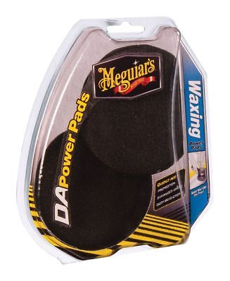 Meguiars Dual Action Waxing Power Pads Twin Pack G3509INT Free Shipping!