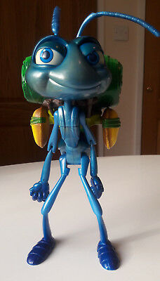 Large Disney Pixar A Bugs Life Ant Flik Action Figure Toy Moving Head & Talking