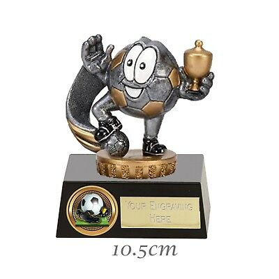 *Football* - Man of The Match - Player Of The Week -Trophy 10.5cm FREE ENGRAVING