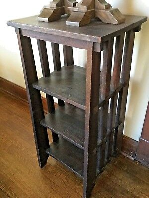 RARE - Stickley Original Antique Mission / Arts and Crafts Era - Magazine Stand