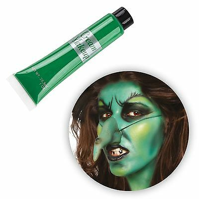 28ml Verde Crema Make Up Strega di Halloween Zombie Rana Alien pelle Body