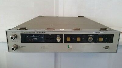 WORKING HP 86720A Signal Generator Frequency Extension Unit.