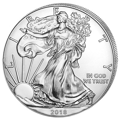 1$ USA Silber / Silver US / American Eagle 2018 1 OZ