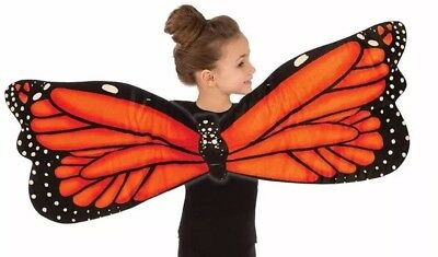 Plush Butterfly Wings Animal Dress Up Costume Accessory, pretend play for girls