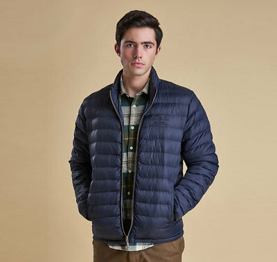 NEW mens XL/XXL barbour templand quilt/quilted Jacket navy puffer
