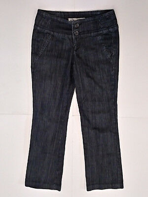f11090b4a3 BOOM BOOM JEANS {Size 7} Junior's Dark Wash Low Rise Bootcut Jeans ...