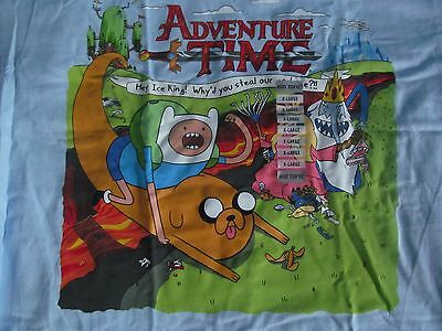New Adventure Time Jake And Finn Hey Ice King! Why'd You Steal Our Garbarge, Xl
