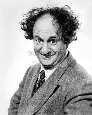 """Larry Fine Actor And Comedian """"The Three Stooges""""  8X10 Publicity Photo (Fb-764)"""