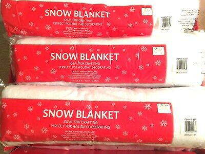 Imitation Christmas Holiday Decoration Snow Blanket for Snow Village and Dept 54