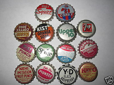 Pop  Bottle Cap    14 Cork See Pic