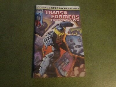 Nm Transformers Regeneration One 100 Page Spectacular #1