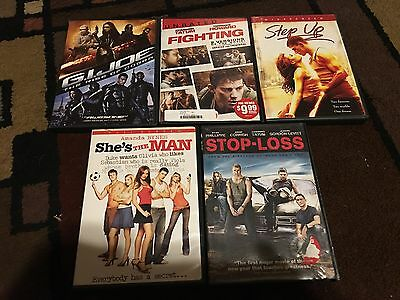 Lot Of 5 Channing Tatum Movies, Dvds