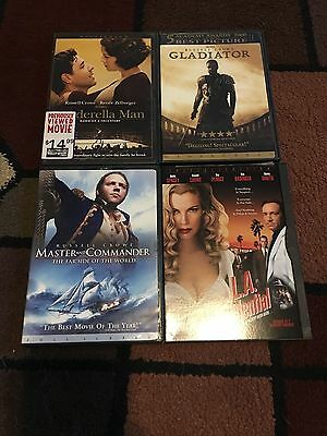 Lot Of 4 Russell Crowe Movies Dvds