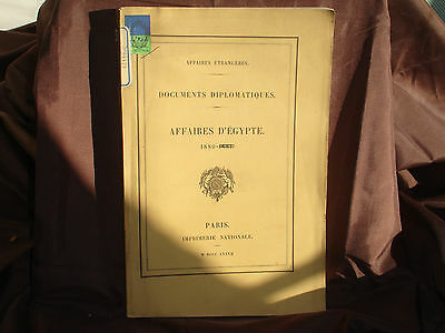 Documents Diplomatic,Business Genuine Ancient Egyptian Faience 1880; Exchange of