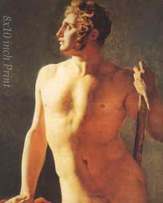 Nude Male Naked 8x10 Print Picture 1665 Torso of a Man by Theodore Gericault