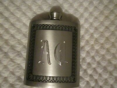 Vintage Selwin Pewter Flask
