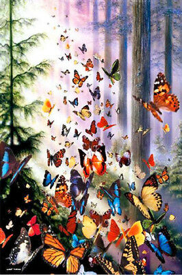 5D DIY Diamond Painting Embroidery Cross Stitch Decor 20*25cm S4 E149 Butterfly