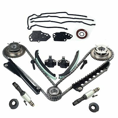 Timing Chain Kit Cam Phaser Timing+cover Seal For 5.4LFord F150 F250 Lincoln 3V
