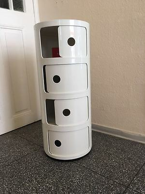 Container Componibili, Kartell, 4-Er Weiss, Neu + Ovp!