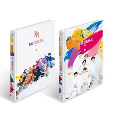 JBJ [TRUE COLORS] 2nd Mini Album CD+POSTER+Photo Book+Hand Printing+Sticker+Card