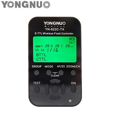Yongnuo YN622C-TX YN-622C-TX Wireless TTL Flash Trigger Controller HSS for Canon