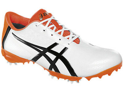 Asics Gel Ace Pro Light Golf Shoes - White/Black/Orange