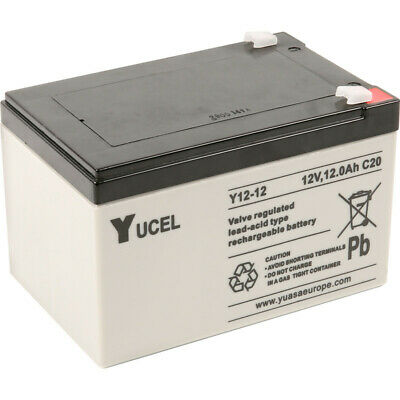 LUCAS 12 VOLT 12 Amp Hour (12V 12ah) Sealed Rechargeable AGM/GEL Battery