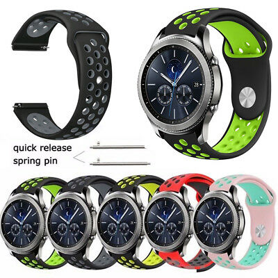 Replacement Sport Silicone Strap Watch Band For Samsung Gear S3 Classic/Frontier