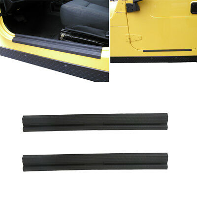 Opar ABS Door Entry Guards Door Sill for Jeep Wrangler Unlimited TJ 1997-2006