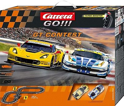 Carrera GO!!! GT Contest Slot Car Set 62368