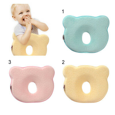Infant Baby Pillow Prevent Flat Head Memory Foam Cushion Sleeping Support Lovely