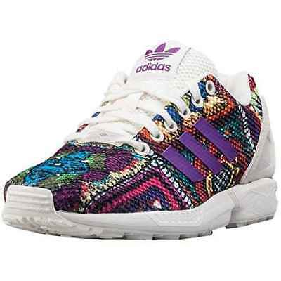 Scarpe Adidas Originals ZX Flux The Farm Company S76593 Running Donna White e66f6b7441c