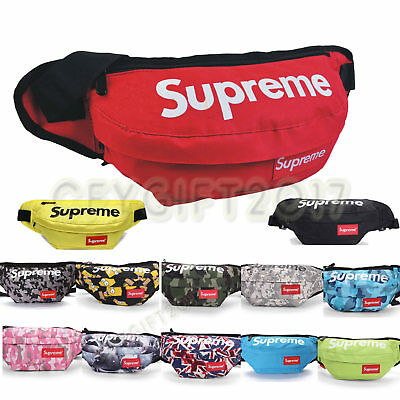 Supreme Waist Bag Fanny Pack Outdoor Travel Pouch Military Camping Hike shoulder