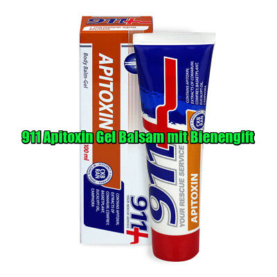 911 Apitoxin Gel Balsam mit Bienengift bee venom gel-balm for joints and muscles