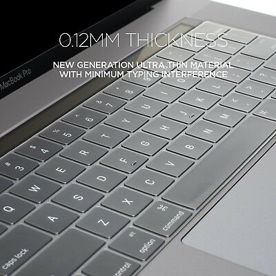 check out 60db6 f0c59 WATERPROOF DUST-PROOF CLEAR TPU Keyboard Cover For Macbook Pro 13