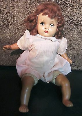 Vintage  Horsman Composition Doll - Adorable Face