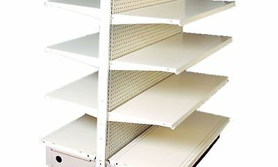 Gondola Shelving Lozier Complete Sections Retail Store Aisle 4ft section