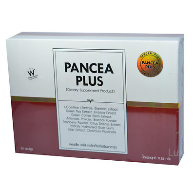 Pancea Plus, Fast Weight Loss, Wink White, (NEW FORMULA) 30 x New Year, New Look