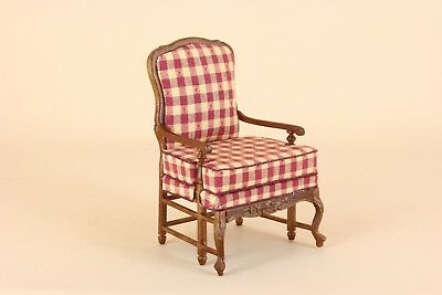 "Bespaq Direct Dollhouse Miniature   ""AMISE FRENCH COUNTRY CHAIR""   6201-RC-NWN"