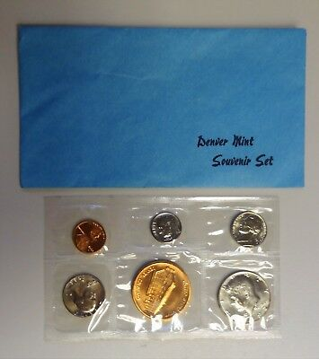 1982 Denver Souvenir Mint Set - Uncirculated - With Envelope