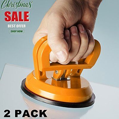 "2 PACK Vacuum Suction Cup Glass Lifter 4.5"" Car Dent Puller, Vacuum Lifter for"