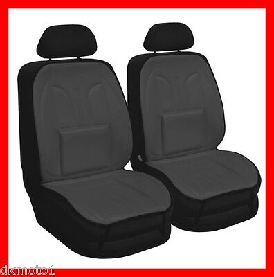 Car Seat Cover Cushion Pair   GREY
