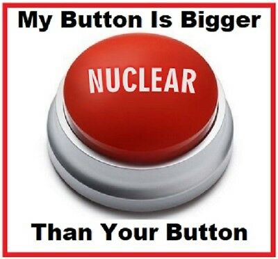 442 -Funny Nuclear Button Refrigerator Toolbox Locker Magnet