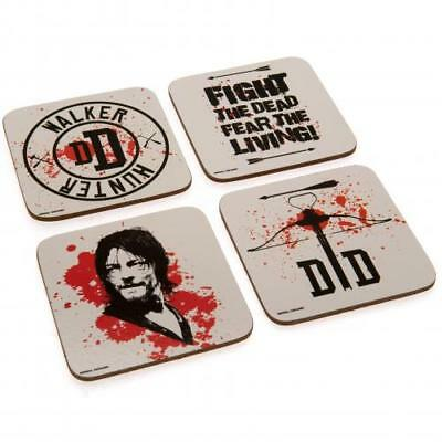 The Walking Dead Coaster Set (football club souvenirs memorabilia)