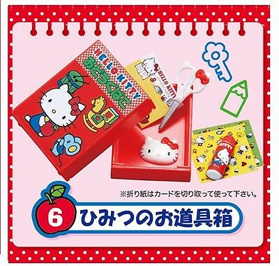 Re-Ment Miniature Sanrio Hello Kitty Student Stationery appliance Set # 6