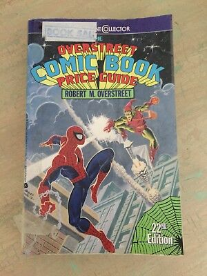 comic book rare vintage overstreet price guide 10th issue 45 22 rh picclick com Most Expensive Comic Book Sold Most Valuable Rare Comic Books