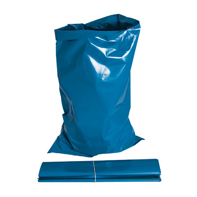 100 x Strong heavy duty Blue Rubble Bags / sacks for garden / builders waste
